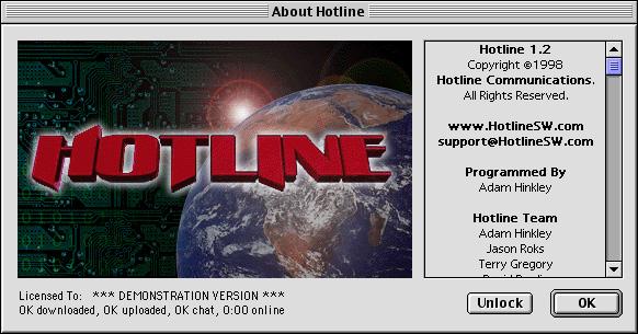 Hotline Client 1.2.3 (Macintosh)