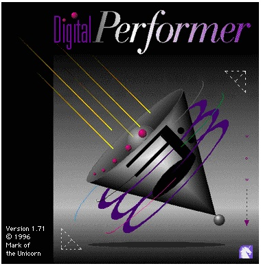 Digital Performer 1.71 (Macintosh)