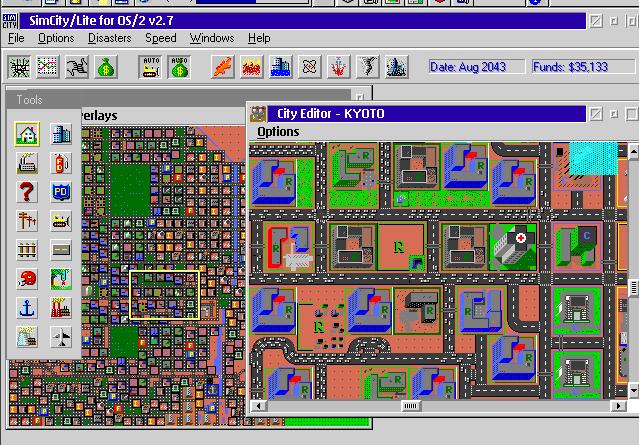 SimCity 2.7 (OS/2)