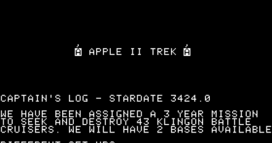 Apple Trek (Apple II)