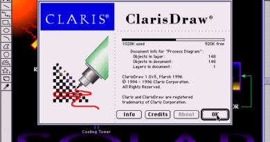ClarisDraw 1.0v2 (Macintosh)