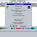 CorelDraw 5 (Windows)