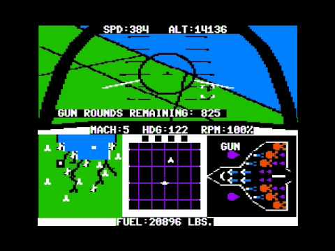 F-15 Strike Eagle (Apple II)