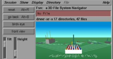 File System Navigator - fsn (Silicon Graphics)