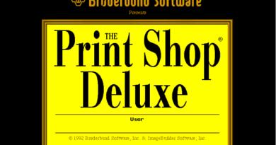 The Print Shop Deluxe (DOS)