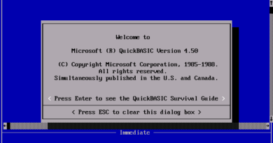 QuickBASIC 4.5 (DOS)