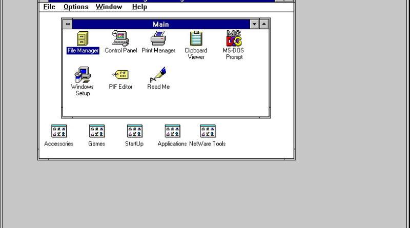 SoftWindows 2.0 (Macintosh)