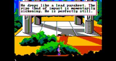 Space Quest II (Apple II)