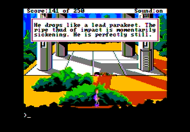 Space Quest II (Apple II)