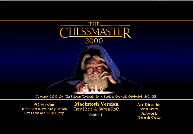 Chessmaster 3000 (Macintosh)