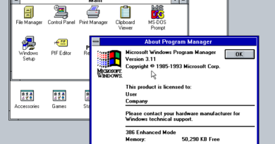 Windows 3.11 (x86)