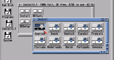 Workbench 3.1 (Amiga)