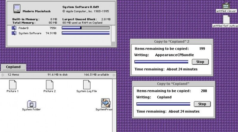 Apple Copland (Beta)